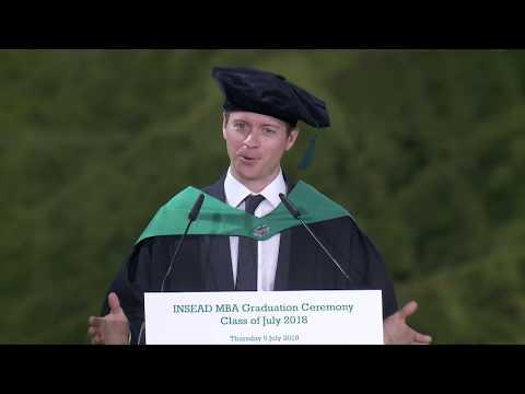 MBA Grad 2018J - Ben Hamilton,18J Valedictorian Speaker
