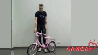 Детский двухколесный велосипед PROFI Princess G1611 для девочек профи