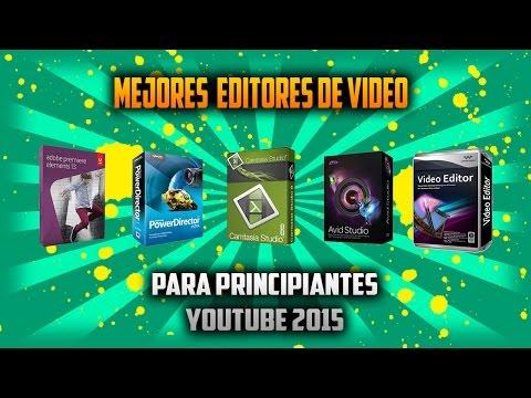 Los mejores Editores de Vídeo para Principiantes YOUTUBE 2015   link de descarga