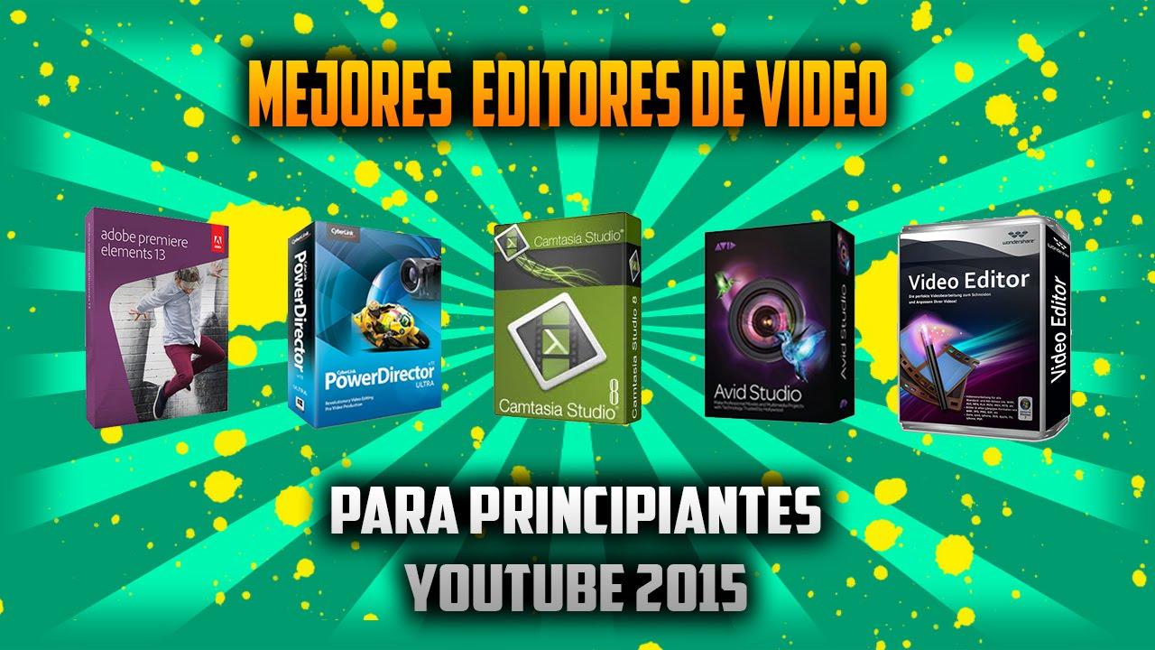 descargar el mejor editor de videos para youtube