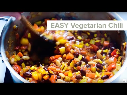 Easy Vegetarian Chili Recipe