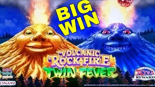 Volcanic Rock Fire Twin Fever Slot Machine  HUGE LINE HIT & Bonuses | Live Slot Play w/NG Slot