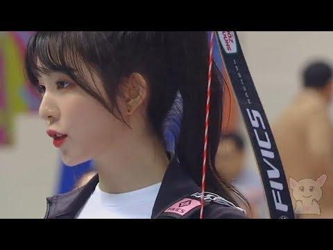 Корейские лучницы. (Спорт №48)