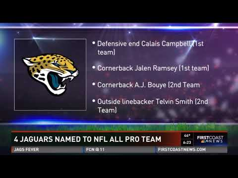 Jalen Ramsey & Telvin Smith named to NFL All Pro Teams