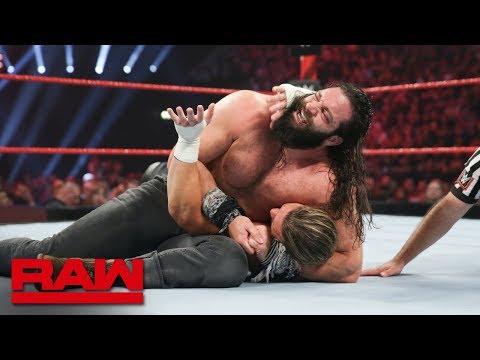 Elias vs. Dolph Ziggler: Raw, Nov. 5, 2018