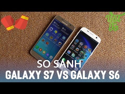 Vật Vờ| So sánh Samsung Galaxy S7 và Galaxy S6: có đáng nâng cấp?