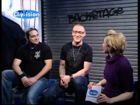 Cause For Confusion TV Interview Backstage City Vision
