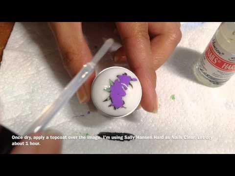 How to Make a Stamping Decal