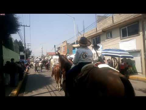 Inicia el Paseo de la Agricultura en Metepec