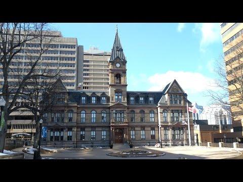 Halifax City Hall and Grand Parade (April 3, 2017)