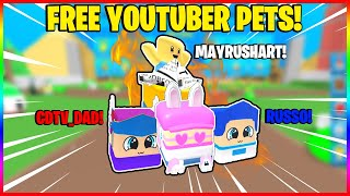 *NEW* BOMB SIMULATOR! Twitter Codes for FREE YOUTUBER PETS! *NEW* Roblox Game!