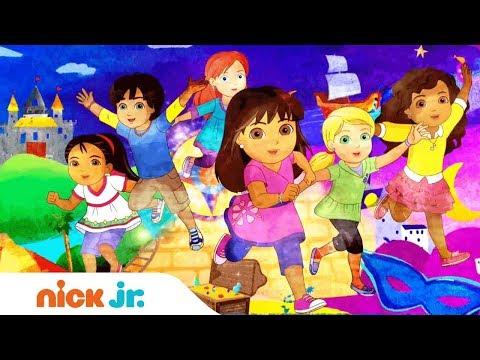 Dora y sus amigos | Videoclip canción oficial | Nick Jr.