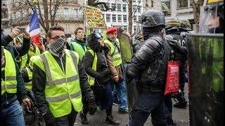 'ŻÓŁTE KAMIZELKI' – PROTESTY W TOKU