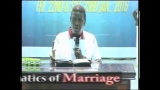 Sunday 14th Feb 2016 MATHEMATICS IN MARRIAGE