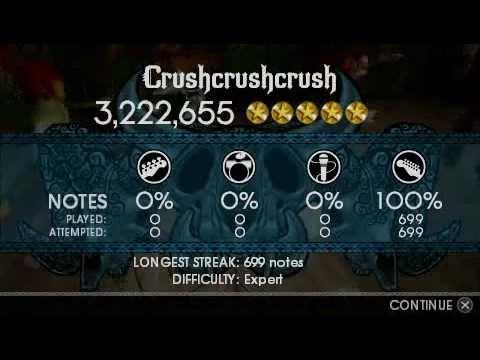 Crushcrushcrush Rock Band Unplugged DLC (7 of 98) Guitar FC + Download Mediafire