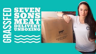Seven Sons GrassFed Meat: Delivery Unboxing (vs. Butcher Box) + Coupon Code
