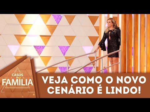 Christina Rocha Mostra O Novo Cenário Do Programa | Casos De Família (04/05/18)