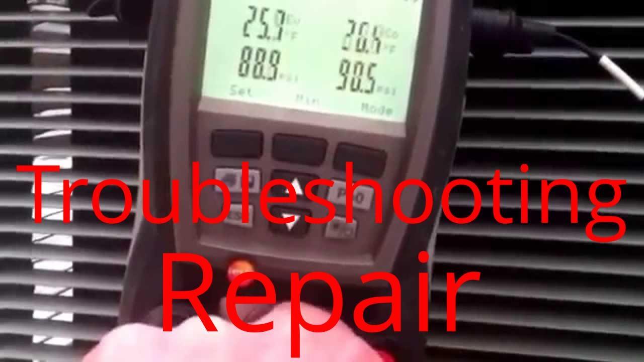 HVAC Service: Troubleshooting Rheem RoofTop Heatpump Package Unit TXV Repair