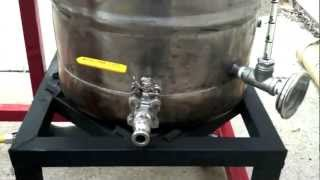 2 Tier Natural Gas Brew Stand