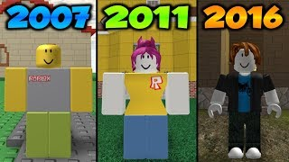 The Evolution Of The Happy Home 2007 - 2016 (Roblox)
