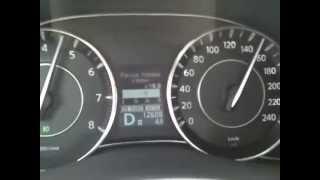 "Тест коробки АКПП Nissan Patrol 2012 в режиме ""кик-даун"""