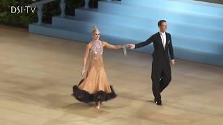 Arunas Bizokas & Katusha Demidova solo dance from the UK Open 2018