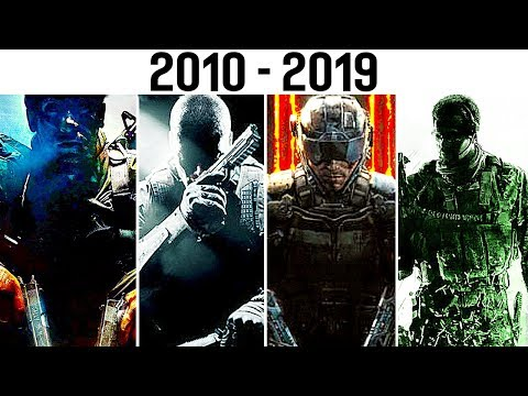 RANKING EVERY CALL OF DUTY GAME FROM WORST TO BEST! (2010-2019)