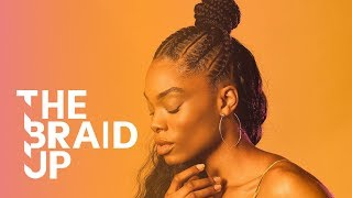 Braided Stitch Bun with Weave | The Braid Up | Cosmopolitan