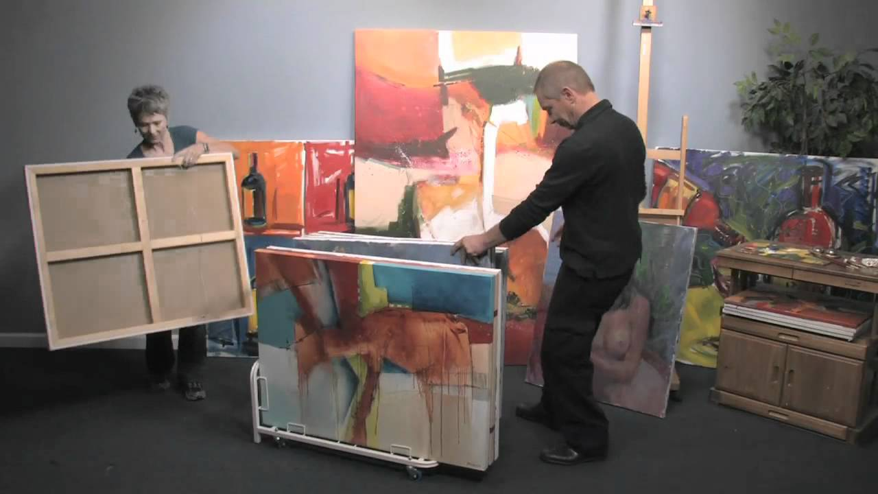 Dryden Art And Canvas Keepers   Perfect For Galleries, Studios, Museums And  More!   YouTube