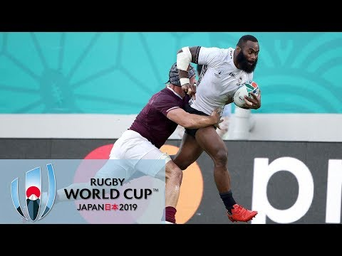 Rugby World Cup 2019: Fiji Vs. Georgia | EXTENDED HIGHLIGHTS | 10/03/19 | NBC Sports