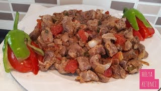 Tavuk Taşlık Kavurması Tarifi - Hülya Ketenci - Yemek Tarifleri