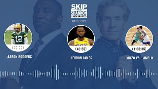 Aaron Rodgers, LeBron James, Lonzo vs. LaMelo (5.5.21) | UNDISPUTED Audio Podcast