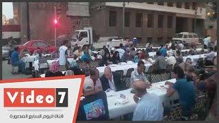 الكنيسة الإنجيلية بقصر الدوبارة تنظم مائدة إفطار