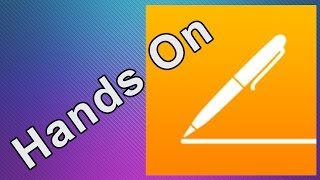 Hands On: Apple - iWork for iOS - Pages (on iOS 7)