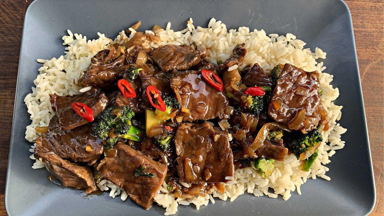Stir Fried Roastbeef - So lecker wie beim Asiaten aber schnell daheim gemacht!