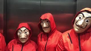 Casa de Papel - Optime Halloween 2018