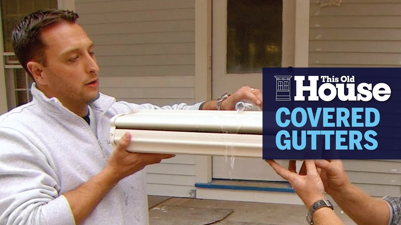 How to Install a Covered Gutter | This Old House