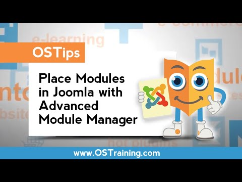 How To Place Modules in Joomla With Advanced Module Manager