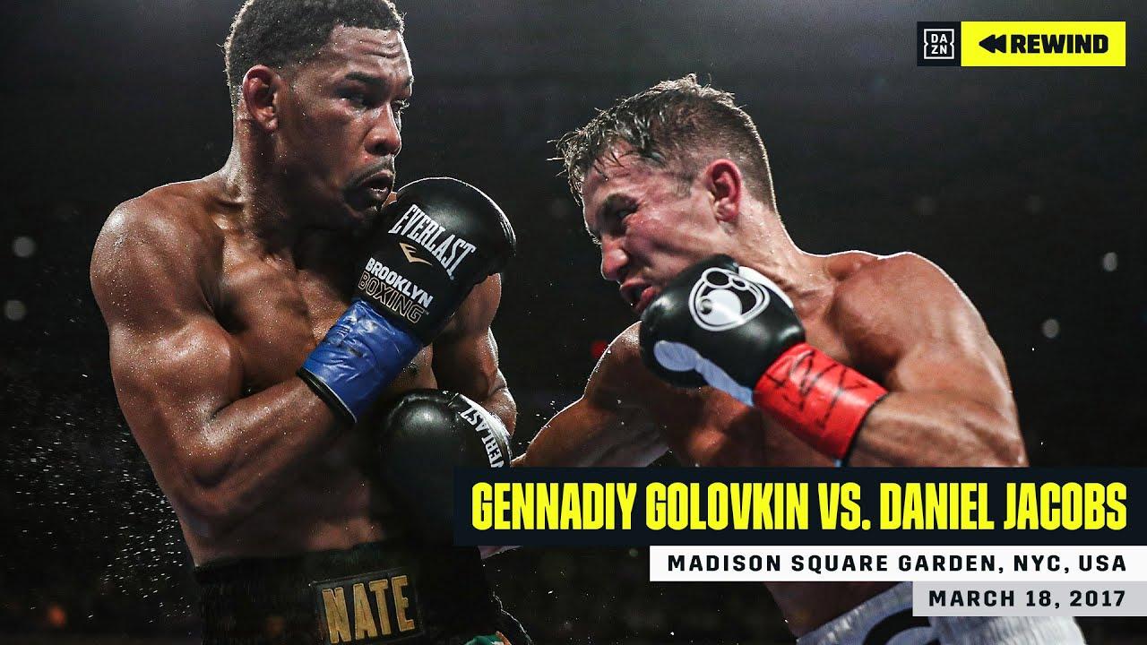 Full Fight Gennadiy Ggg Golovkin Vs Daniel Jacobs Dazn