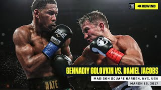 "FULL FIGHT | Gennadiy ""GGG"" Golovkin vs. Daniel Jacobs (DAZN REWIND)"