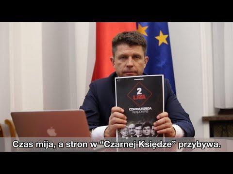 """Ryszard Petru: Tworzymy """"Czarną Księgę"""" arogancji władzy."""