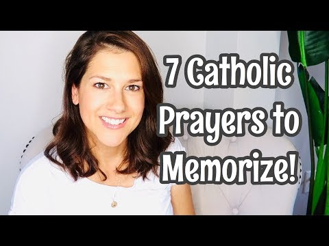 7 Catholic Prayers to Memorize (Besides The Our Father, Hail Mary & Glory Be)