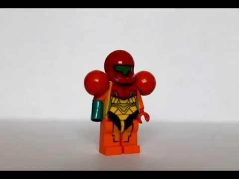 Custom Lego Samus - YouTube