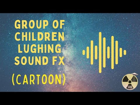 Cartoon Sound Effect  Group of Children Laughing