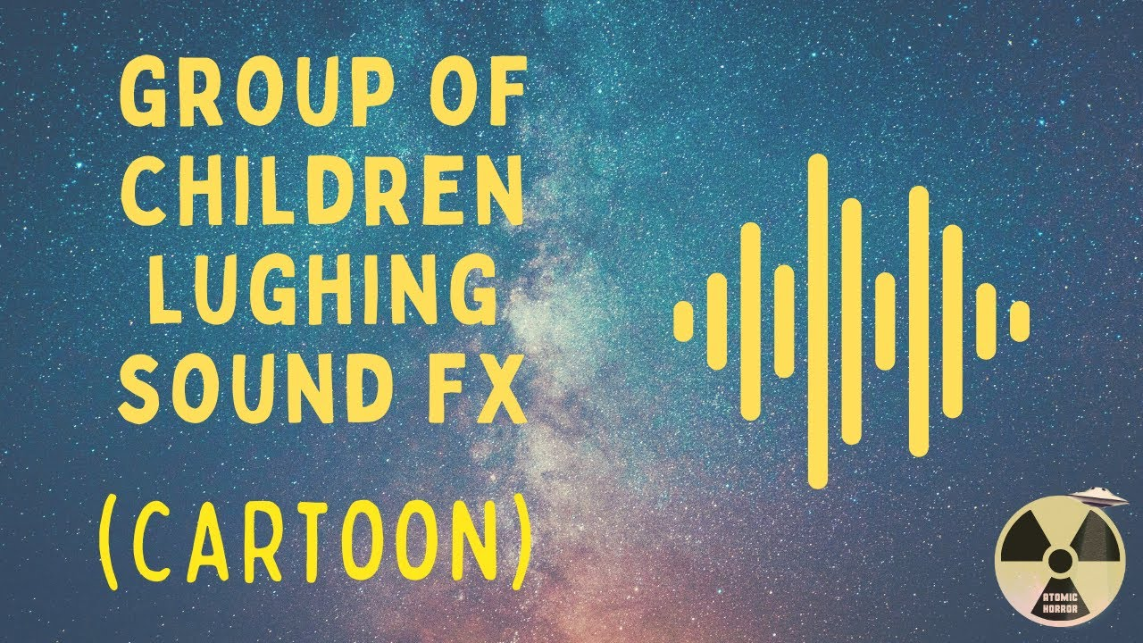 Cartoon Sound Effect - Group of Children Laughing - YouTube