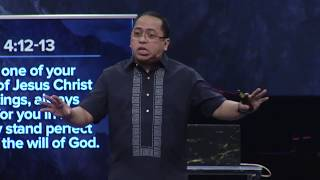 Profiles of Prayer - Fight Our Battles With Prayer - Bong Saquing