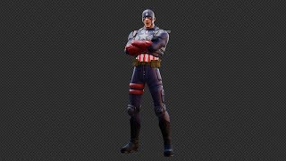 IMPRESIONANTE Fortnite: FILTRADO skin del Capitán América/parche 13.20