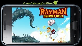Rayman Jungle Run Android Game Gameplay [Game For Kids]