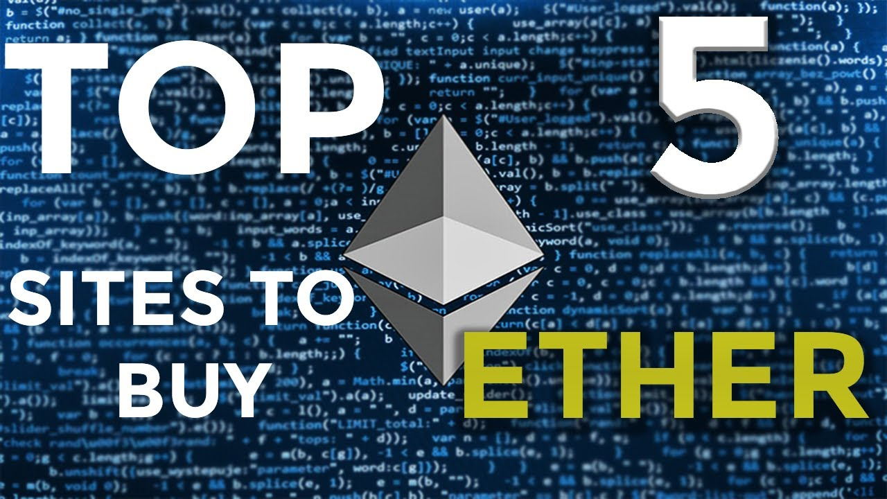 top websites to buy cryptocurrency