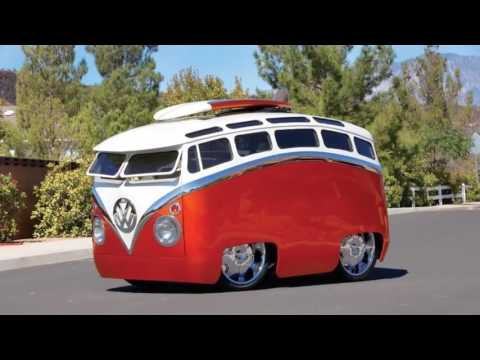 Inspired Cartoon VW COMBI SURF SEEKER Make Falling Hearts View It Creator By RON BERRY s